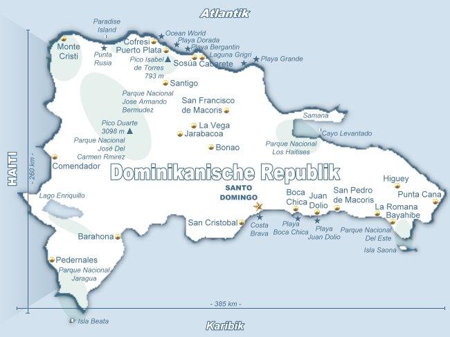 Domrep24 Reiseführer Aktuelle Informationen Zur Dominikanischen